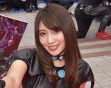 森咲智美『GANTZ』コスで魅了