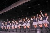 NGT48劇場に山口真帆(右から5人目)が101日ぶりに登場(C)AKS
