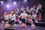 解散するチームG最後の公演に出演した山口真帆(センター)(C)AKS