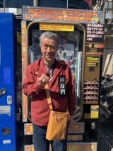 高田純次、キスマイと千円ガチャ