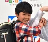 『イトーヨーカドー ランドセル2020』CM発表会に出席した鈴木楽 (C)ORICON NewS inc.