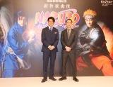 新作歌舞伎『NARUTO-ナルト-』制作発表会に出席した(左から)中村隼人、坂東巳之助 (C)ORICON NewS inc.
