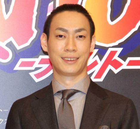 新作歌舞伎『NARUTO-ナルト-』制作発表会に出席した坂東巳之助 (C)ORICON NewS inc.