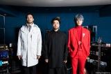「THE XXXXXX」(左から)ASAHI UCHIDA(Syn)、TAKAYUKI YAMADA(Vo)、GO AYANO(G)