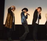 MBS/TBSドラマイズム『都立水商!〜令和〜』制作発表会に出席した(左から)バンダリ亜砂也、小野寺晃良、瀬戸利樹 (C)ORICON NewS inc.