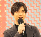 NHKで『ねほりんぱほりん』の制作チームによる特番『図解デ理解 アイマイカイワイ』の取材会に出席した千葉雄大 (C)ORICON NewS inc.