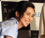 WOWOW『連続ドラマW 坂の途中の家』の完成披露試写会に出席した柴咲コウ (C)ORICON NewS inc.
