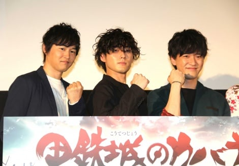 (左から)逢坂良太、増田俊樹、畠中祐 (C)ORICON NewS inc.