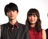 吉沢亮(左)と内田理央 (C)ORICON NewS inc.