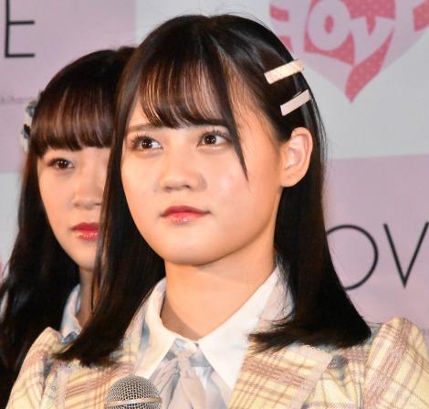 5thシングル「探せ ダイヤモンドリリー」(24日発売)のリリース記念イベントを開催した=LOVE・高松瞳 (C)ORICON NewS inc.