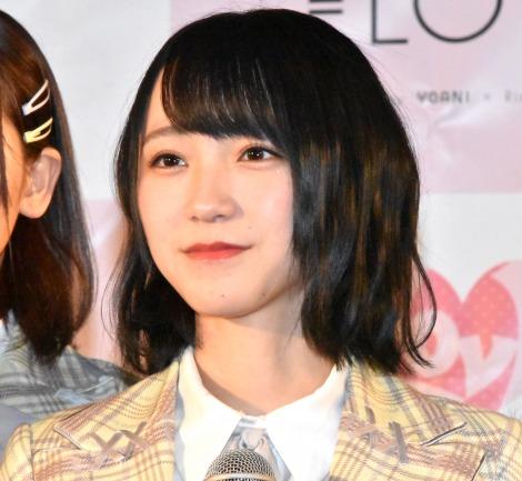 5thシングル「探せ ダイヤモンドリリー」(24日発売)のリリース記念イベントを開催した=LOVE・野口衣織 (C)ORICON NewS inc.