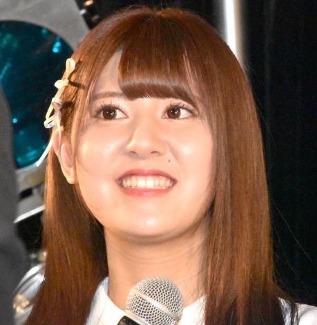 5thシングル「探せ ダイヤモンドリリー」(24日発売)のリリース記念イベントを開催した=LOVE・佐竹のん乃 (C)ORICON NewS inc.