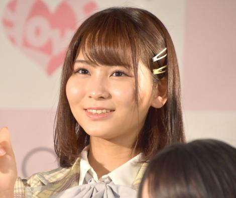 5thシングル「探せ ダイヤモンドリリー」(24日発売)のリリース記念イベントを開催した=LOVE・大場花菜 (C)ORICON NewS inc.
