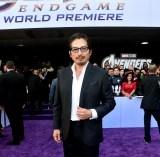 マーベル・スタジオ最新作『アベンジャーズ/エンドゲーム』(4月26日、日米同時公開)にゲスト出演する真田広之。ワールドプレミアに登場(C)Marvel Studios 2019