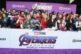 =マーベル・スタジオ最新作『アベンジャーズ/エンドゲーム』(4月26日、日米同時公開)ワールドプレミアの模様(C)Marvel Studios 2019