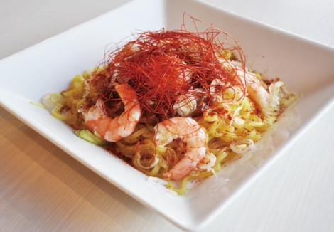 『ももいろ遊宴地 ももクロ IN JOYPOLIS』オリジナルフードメニューの紅く!熱い!太陽の台湾まぜそば
