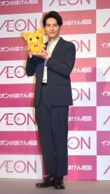 『イオンのほけん相談』新CM発表会に出席した岡田健史 (C)ORICON NewS inc.