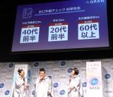 『薬用ピュオーラGRAN新商品&新CM発表会』の様子 (C)ORICON NewS inc.