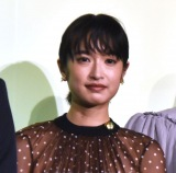映画『さよならくちびる』完成披露試写会に登場した門脇麦 (C)ORICON NewS inc.