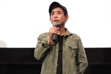 『LUPIN THE IIIRD 峰不二子の嘘』完成披露上映会に出席した栗田貫一
