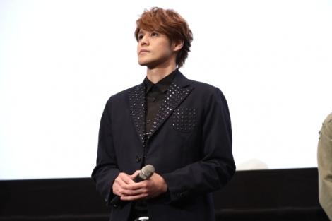 『LUPIN THE IIIRD 峰不二子の嘘』完成披露上映会に出席した宮野真守