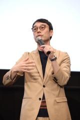 『LUPIN THE IIIRD 峰不二子の嘘』完成披露上映会に出席した清園プロデューサー