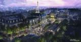 2021年、フロリダ ウォルト・ディズニー・ワールド・リゾートに「レミーのおいしいレストラン」をテーマとしたアトラクションがエプコットにオープン(C)2019 DISNEY ARTIST CONCEPT ONLY