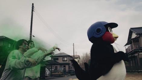 洗濯悪臭に伝染したゾンビに襲われそうなつば九郎