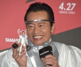 『TAMASHII NATIONS TOKYO』のオープニングイベントに参加した遠藤憲一 (C)ORICON NewS inc.