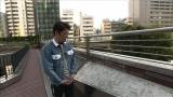 「尾崎豊記念碑」を訪れる坂上忍=25日放送のフジテレビ系『直撃!シンソウ坂上』で尾崎豊さんを特集