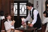 コント「気持ちを淹いれる喫茶店」で内村光良らと共演する生田絵梨花(C)NHK