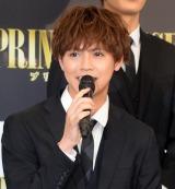 映画『PRINCE OF LEGEND』の完成報告会見に出席した片寄涼太 (C)ORICON NewS inc.