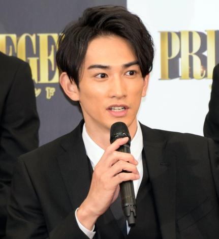 映画『PRINCE OF LEGEND』の完成報告会見に出席した町田啓太 (C)ORICON NewS inc.