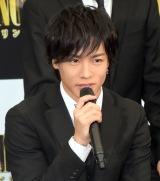 映画『PRINCE OF LEGEND』の完成報告会見に出席した川村壱馬 (C)ORICON NewS inc.