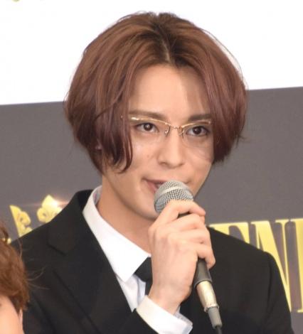 映画『PRINCE OF LEGEND』の完成報告会見に出席した塩野瑛久 (C)ORICON NewS inc.