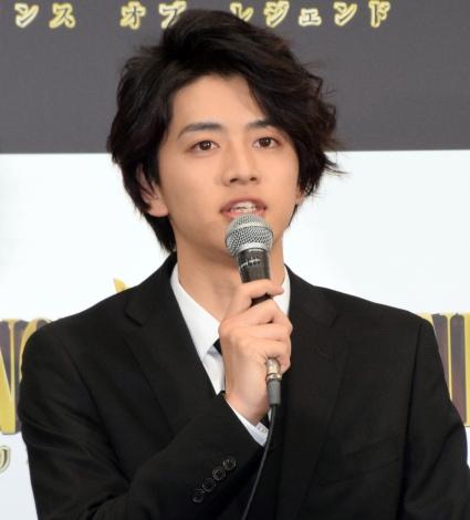映画『PRINCE OF LEGEND』の完成報告会見に出席した飯島寛騎 (C)ORICON NewS inc.