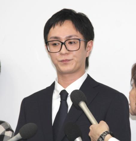 謝罪会見を行ったAAA・浦田直也 (C)ORICON NewS inc.