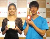 (左から)矢野未希子、しゅんしゅんクリニックP (C)ORICON NewS inc.