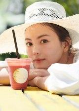 「飲める米糠(こめぬか)」商品の新イメージキャラクターを務める矢野未希子