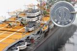 驚きの1円玉サイズ!! 作品名:1/700 旧日本海軍航空母艦「赤城」 制作:R工廠