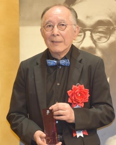『第44回 菊田一夫演劇賞』で演劇賞を受賞した橋爪功 (C)ORICON NewS inc.