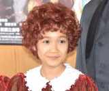ミュージカル『アニー』公開ゲネプロ後の囲み取材に出席した山崎玲奈 (C)ORICON NewS inc.