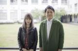 藤川千愛(左)の楽曲「あの日あの時」で作詞家デビューした千鳥・ノブ