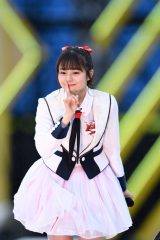 『AKB48グループ春のLIVEフェス』に登場したNGT48・本間日陽 (C)ORICON NewS inc.