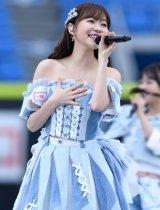 『AKB48グループ春のLIVEフェス in 横浜スタジアム』に出演した指原莉乃(HKT48) (C)ORICON NewS inc.