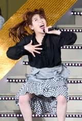 『AKB48グループ春のLIVEフェス』で開催された小嶋真子の卒業セレモニーに駆けつけた西野未姫 (C)ORICON NewS inc.