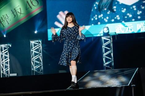 初の単独イベント「おもてなし会」を開催した欅坂46二期生(27日私服ファッションショー)(C)上山陽介