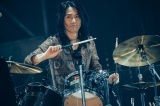 全国ツアー『THE YELLOW MONKEY SUPER JAPAN TOUR 2019 -GRATEFUL SPOONFUL』が開幕【4月28日】ドラム:菊地英二(撮影:横山マサト)