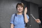 TOKYO FM『これから、何する?』生放送後、同局の前で報道陣の取材に対応する高橋みなみ (C)ORICON NewS inc.