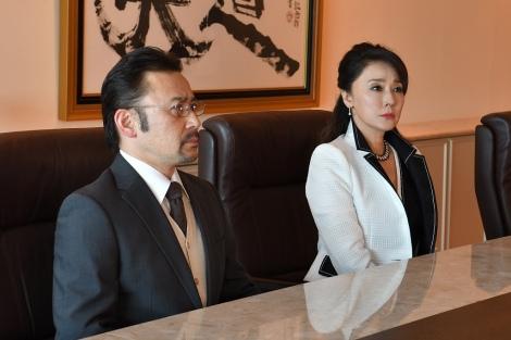 日曜劇場『集団左遷!!』第3話に出演する高木渉、浅野ゆう子(C)TBS